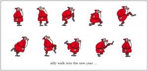 silly walk