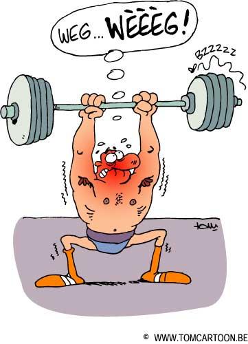 Gewichtheffen | Tomcartoon