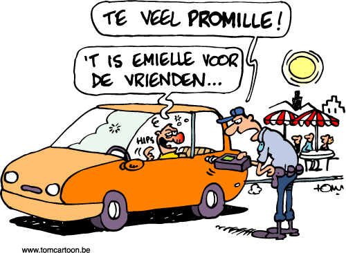 tomcartoon_bierviltjes-politie-Brugge-promille