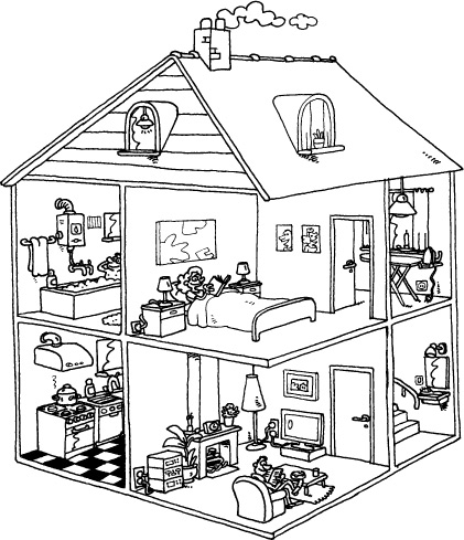 tomcartoon huis tomcartoon