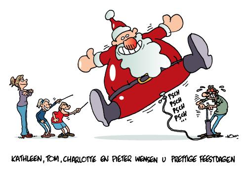 tomcartoon_persoonlijke kerstkaart